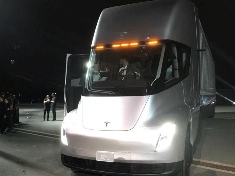 Tesla Battery For Food Truck