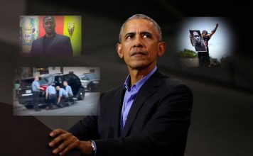 Obama Floyd Collage